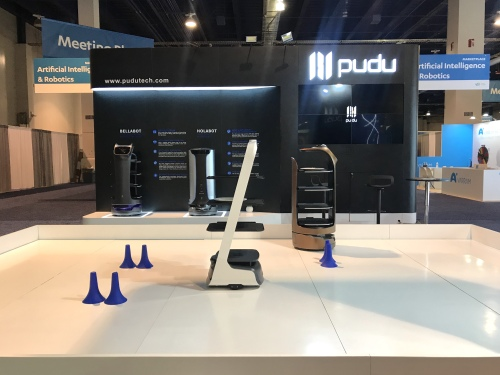 Showcases 3 Flagship Robot at CES 2020